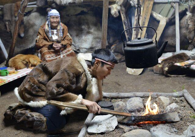 Mieszkańcy byłego Koriackiego Okręgu Autonomicznego (obecnie Kraj Kamczacki).