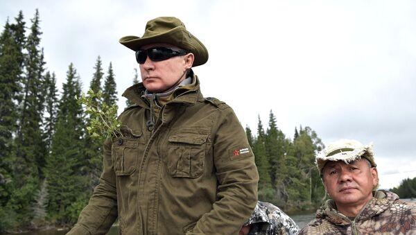 Prezydent Rosji Władimir Putin na urlopie - Sputnik Polska
