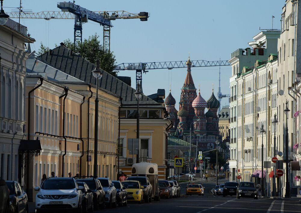 Ulica Bolszaja Ordynka w Moskwie