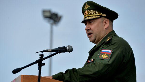 Dowódca zgrupowania Sił Zbrojnych Rosji w Syrii gen. pułk. Siergiej Surowikin - Sputnik Polska