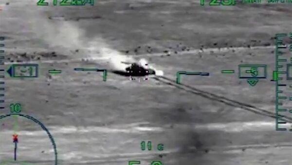 Zakończono likwidację rozproszonych grup bandyckich na granicy między Syrią a Jordanią i Irakiem - Sputnik Polska