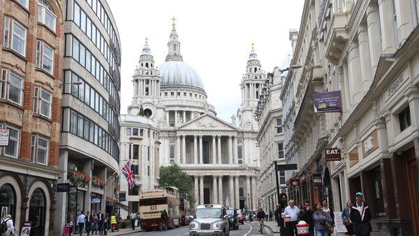Widok na kościół św. Pawła w Londynie - Sputnik Polska