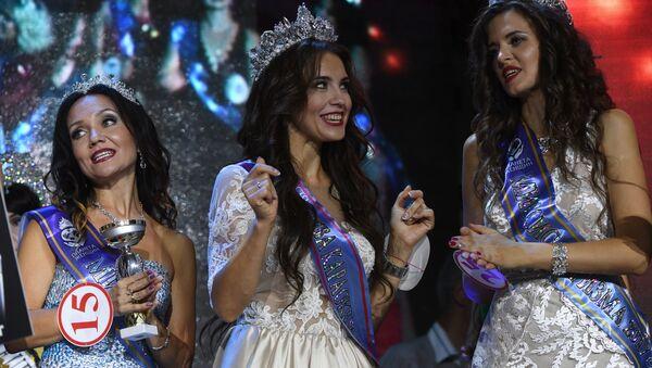 Uczestniczki  finału rosyjskiego konkursu Miss Rosji 2017 - Sputnik Polska