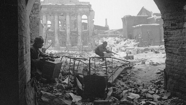 Stalingrad w czsie II wojny światowej - Sputnik Polska