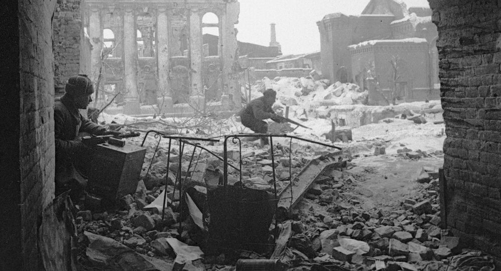 Stalingrad w czsie II wojny światowej