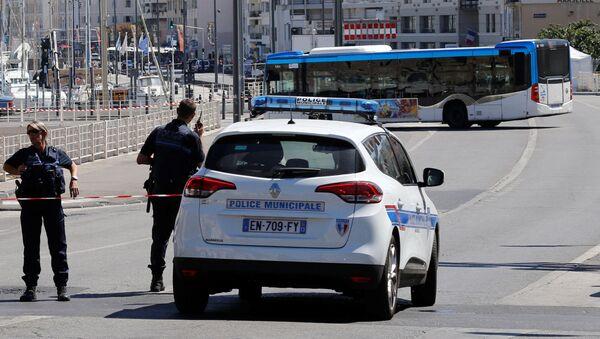 Policja w Marsylii - Sputnik Polska