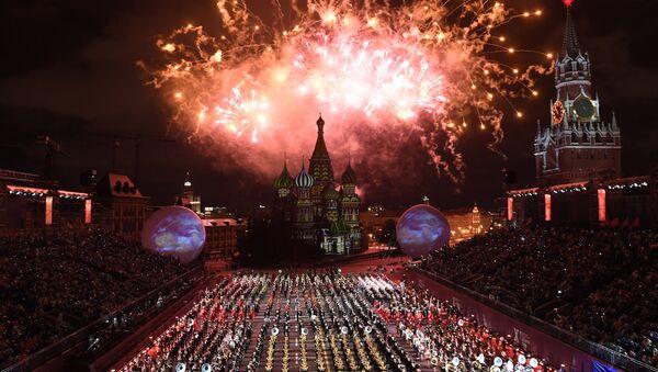 Ceremonia otwarcia 10 edycji festiwalu Spasskaja Basznia w Moskwie - Sputnik Polska