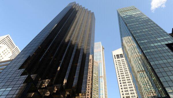 Trump Tower (po lewej) w Nowym Jorku - Sputnik Polska