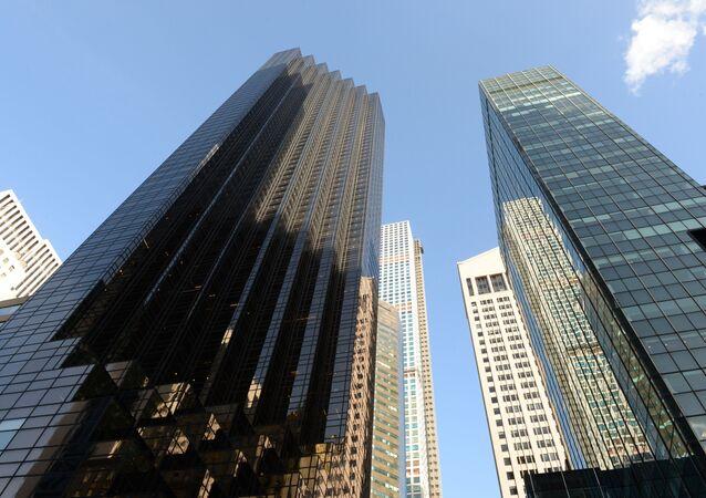 Trump Tower (po lewej) w Nowym Jorku