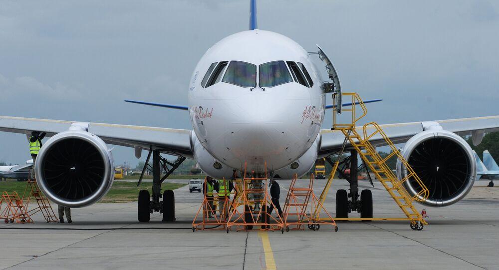 Nowy rosyjski samolot pasażerski MS-21 przed swoim pierwszym lotem