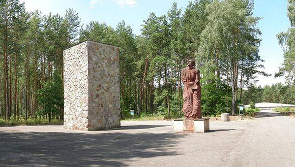 Muzeum–Miejsce Pamięci na terenie byłego niemieckiego obozu zagłady w Sobiborze - Sputnik Polska