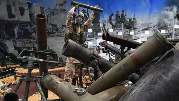 Broń przechwycona terrorystom w syryjskiej prowincji Aleppo - Sputnik Polska