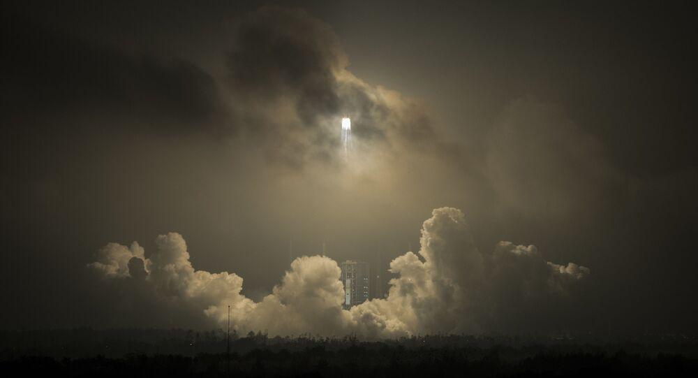 Start rakiety w Chinach