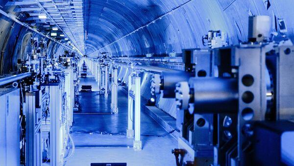 Tunel do zbudowanego pod Hamburgiem lasera na swobodnych elektronach European XFEL - Sputnik Polska