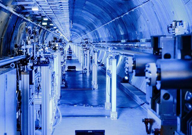 Tunel do zbudowanego pod Hamburgiem lasera na swobodnych elektronach European XFEL