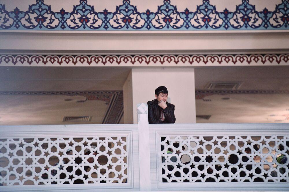 Święto Ofiarowania Kurban Bajram, Meczet w Moskwie