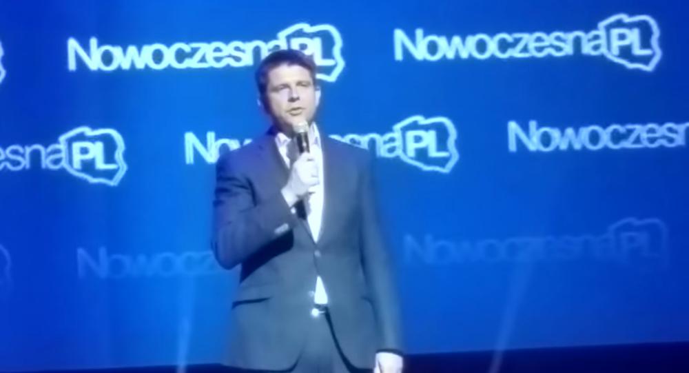 Przewodniczący Towarzystwa Ekonomistów Polskich oraz stowarzyszenia NowoczesnaPL Ryszard Petru