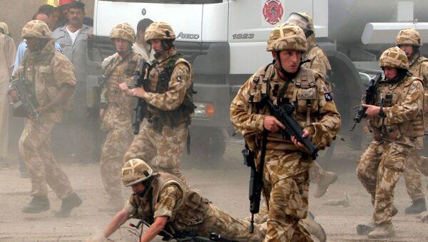 Brytyjskie wojsko w Iraku - Sputnik Polska