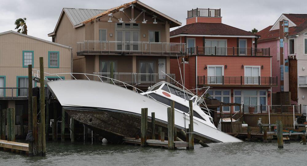 Teksas po przejściu huraganu Harvey