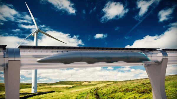 Hyperloop - Sputnik Polska