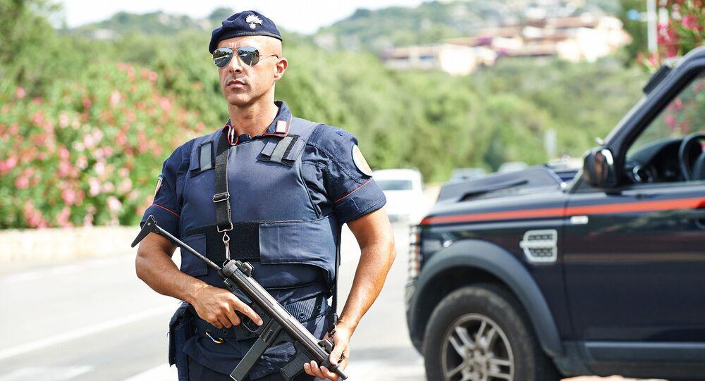 Włoski policjant