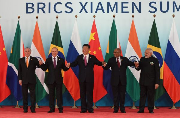 Liderzy BRICS - Sputnik Polska
