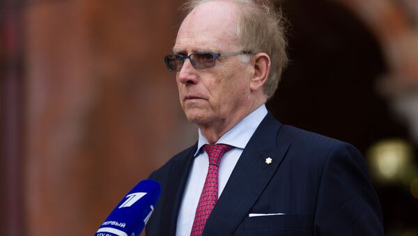 Szef niezależnej komisji Światowej Agencji Antydopingowej Richard McLaren - Sputnik Polska