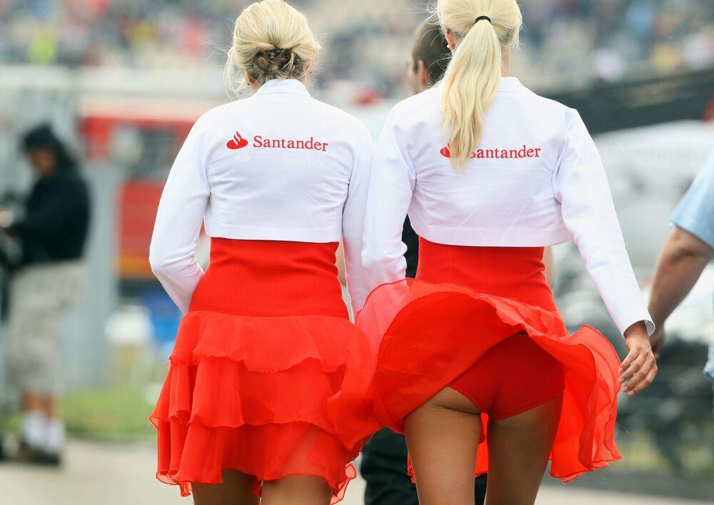 Hostessy podczas Grand Prix w Niemczech