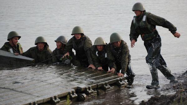 """Rosyjsko-mongolskie ćwiczenia """"Selenga 2015"""" - Sputnik Polska"""