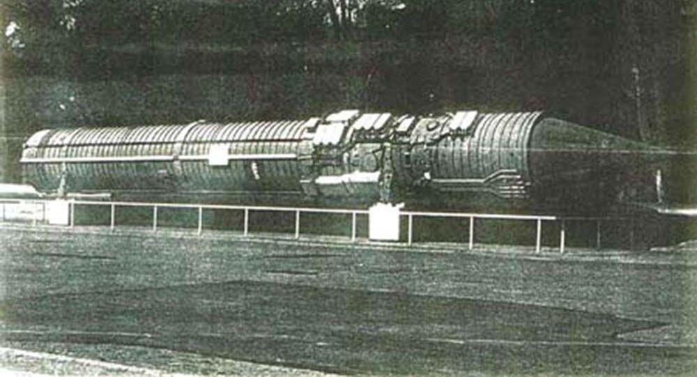 """Rakieta dowodzenia systemu """"Perymetr"""", 1983 rok"""