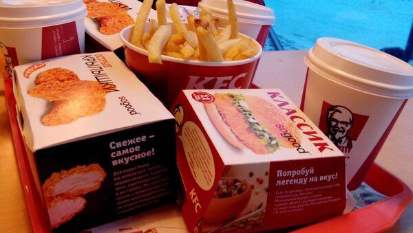 Sieć fast foodów KFC. Zdjęcie archiwalne - Sputnik Polska