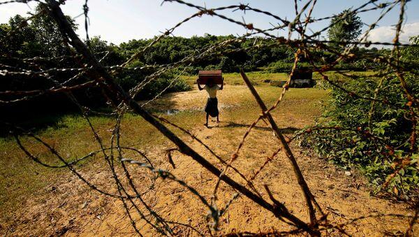Uchodźca Rohingya w Bangladeszu - Sputnik Polska