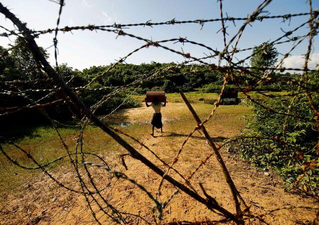 Uchodźca Rohingya w Bangladeszu
