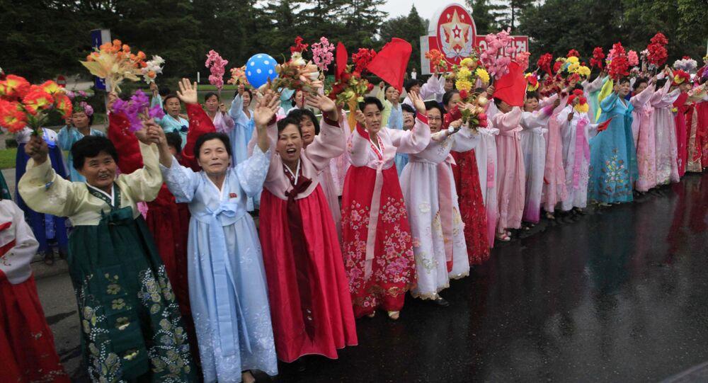 Mieszkańcy Pyongyangu świętują udane testy bomby wodorowej w Korei Północnej