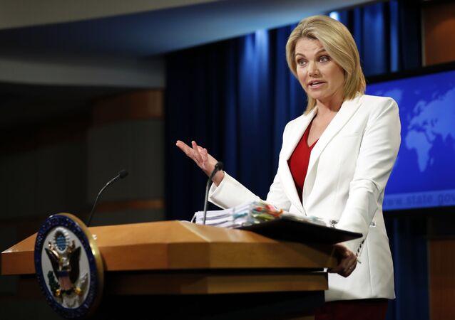 Rzecznika Departamentu Stanu Heather Nauert
