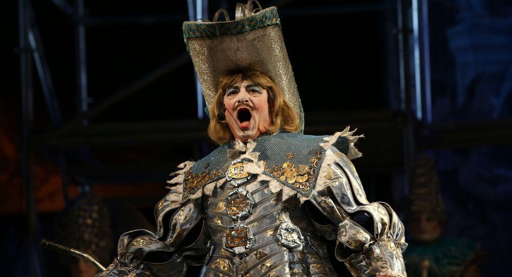 Występ Donieckiego Teatru dramatycznego w Moskwie