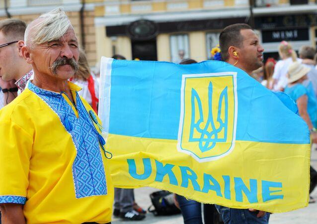 Parada wyszywanek w Kijowie-2014