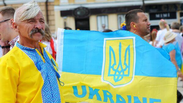 Parada wyszywanek w Kijowie-2014 - Sputnik Polska