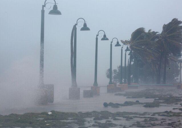 Huragan Irma w Portoryko