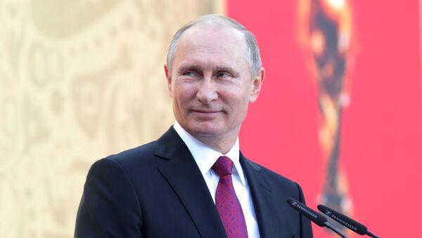 Putin otworzył etap Mundialu 2018 - Sputnik Polska