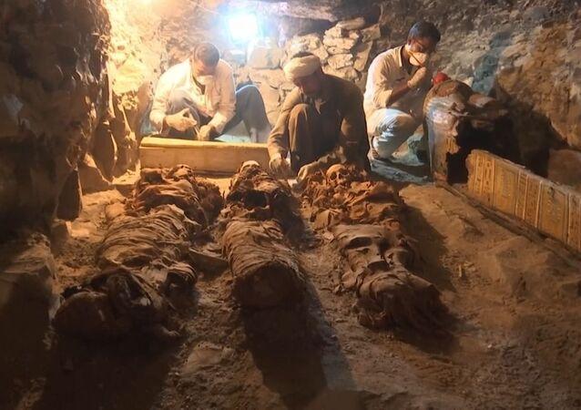 W Luksorze znaleziono mający ponad 3500 lat grób