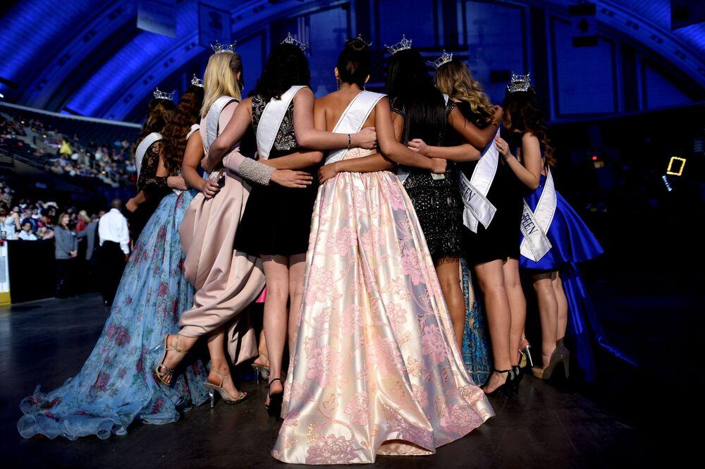 "Uczestniczki konkursu ""Miss America-2018"""