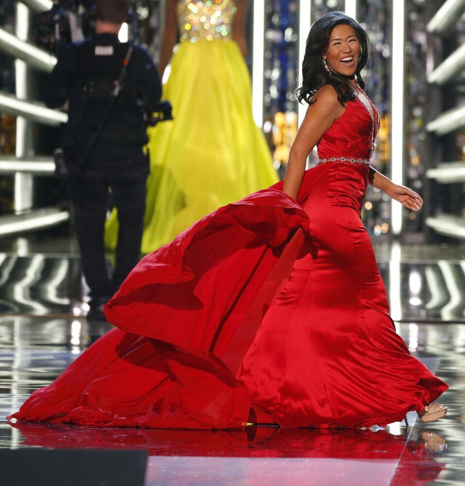 "Uczestniczka konkursu ""Miss America-2018"""