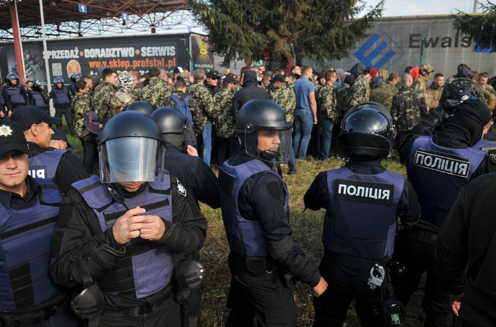 Punkt przejścia granicznego ukraińsko-polskiego Krakowiec