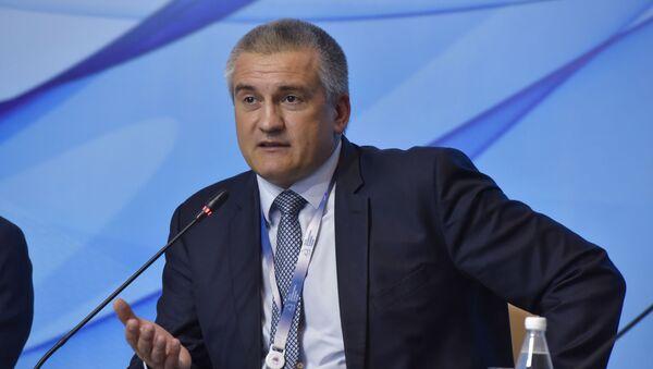 Szef Republiki Krymu Siergiej Aksionow. Zdjęcie archiwalne - Sputnik Polska
