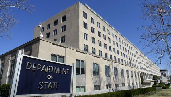 Siedziba Departamentu Stanu USA w Waszyngtonie - Sputnik Polska