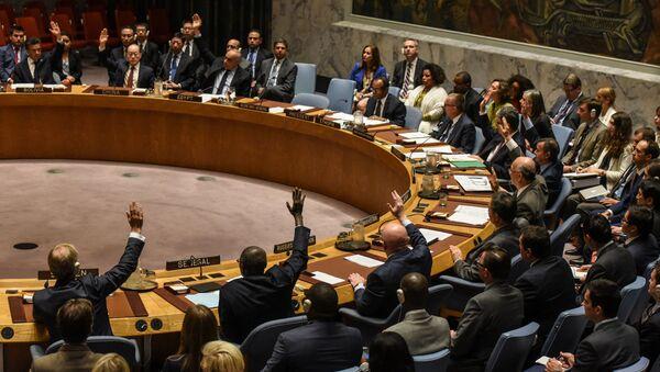 Posiedzenie Rady Bezpieczeństwa ONZ w sprawie KRLD - Sputnik Polska
