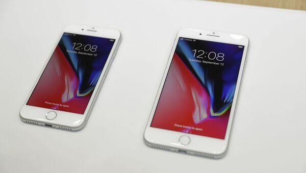 Prezentacja nowego iPhone 8 i iPhone 8 Plus w Kalifornii - Sputnik Polska