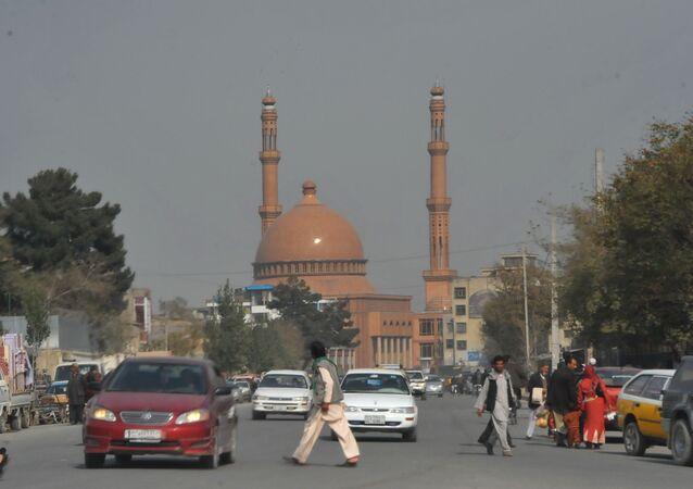 Centrum Kabulu, Afganistan