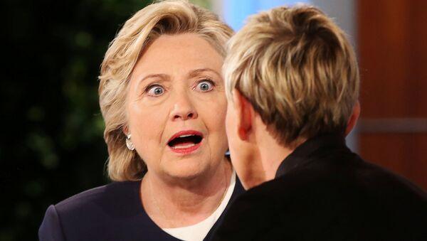 US Democratic presidential nominee Hillary Clinton - Sputnik Polska